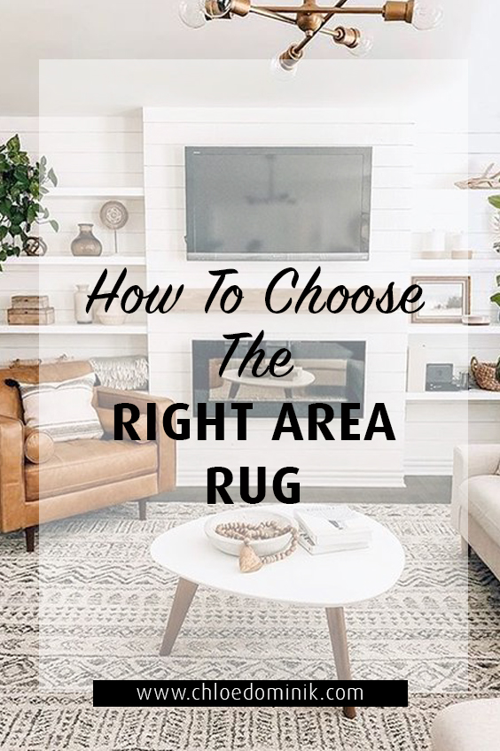 How To Choose The Right Area Rug: There's lots of factors that go into choosing the right area rug for your space, colour, environment, style and function. Here is a guide to how to pick the right rug for your home down to size, colour, function and materials. @chloedominik #howtochoosearug #arearugs #interiordesigntipsrugs #choosinganarearug #arearugideas #layeredrugs #texturedrug