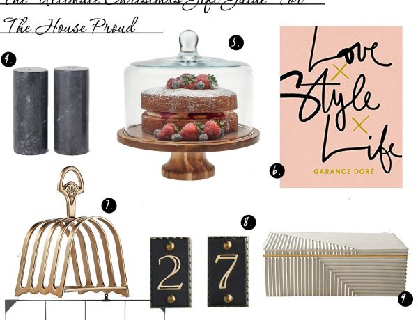 The Ultimate Christmas Gift Guide For The House Proud: It's always nice to put some effort into our homes to make it stylish and welcoming for ourselves and others! Here is the ultimate gift guide for Christmas ideas and presents for those who like to go all out with home decor and styling with some gorgeous pieces for home decor to keep organized and on trend! @chloedominik #houseproudhome #christmasgiftguides #christmasgiftideas #homedecorgifts #homedecorgiftguide #homedecorpresents