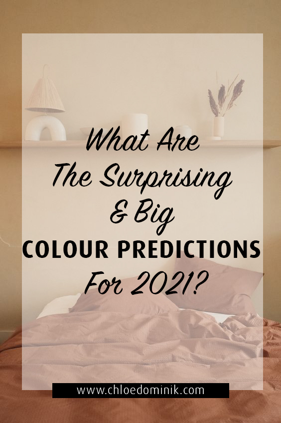 What Are The Surprising & Big Colour Predictions For 2021?: What are colour trends on the radar for this upcoming year of 2021? What colours have the big brands and companies predicted will be the favourites in the homes and what these colours will bringing in to our lives, emotionally and our well-being. @chloedominik #paintcolors2021 #paintcolorsforhome #colortrends2021 #colorpredictionsfor2021
