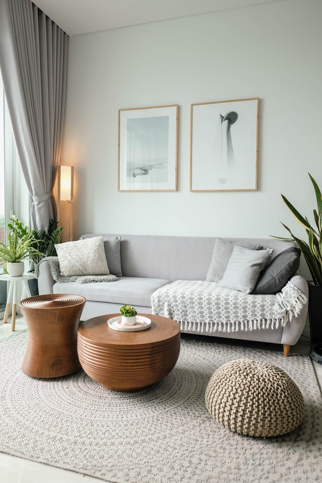 Adding Colour To A Neutral Living Room, Neutral Living Room