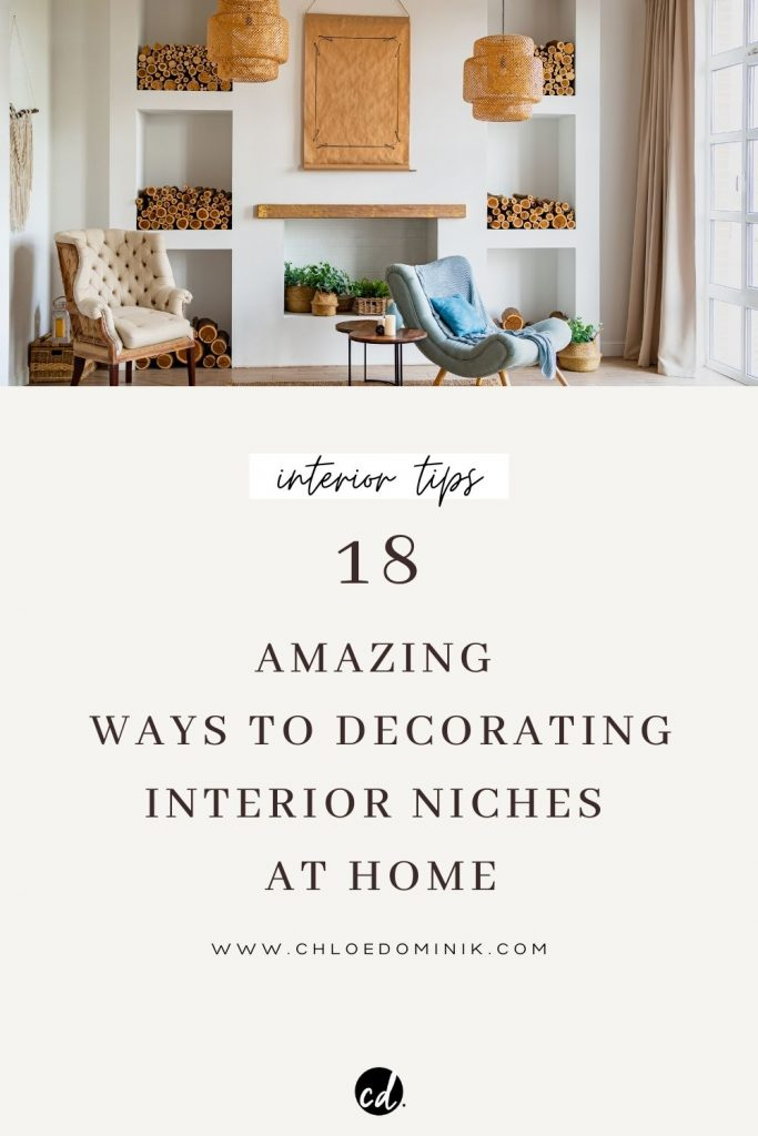Interior Niches styling