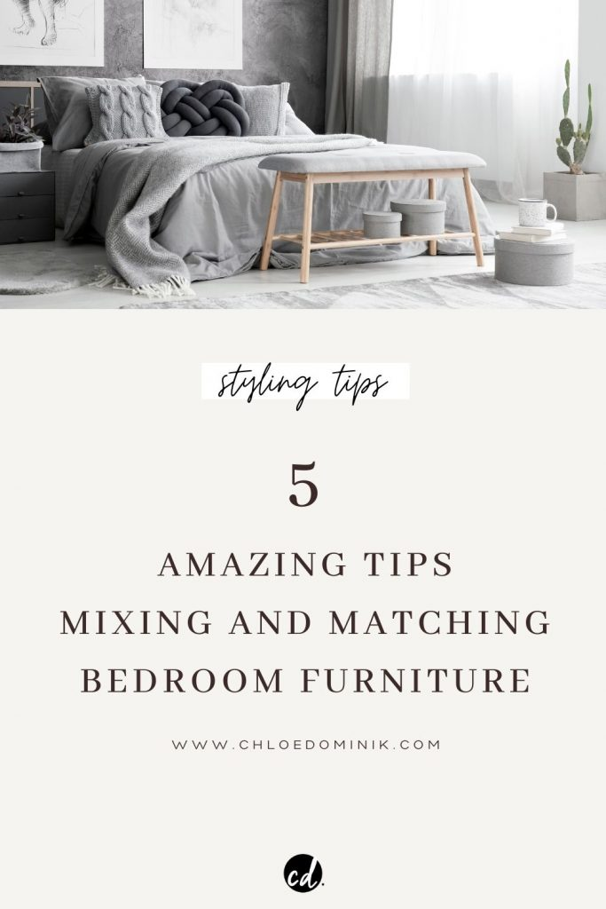 Mixing And Matching Bedroom Furniture - How To Mix And Match Bedroom Furniture