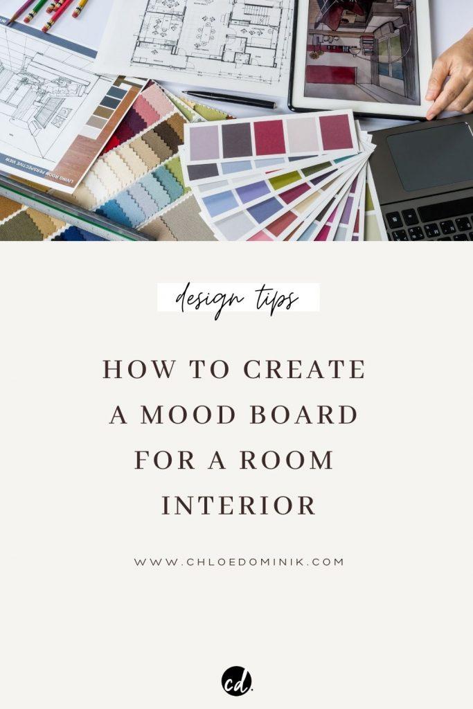 How To Make A Mood Board Interior Design