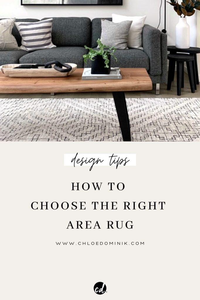 How To Choose The Right Area Rug: There's lots of factors that go into choosing the right area rug for your space, colour, environment, style and function. Here is a guide to how to pick the right rug for your home down to size, colour, function and materials. #howtochoosearug #arearugs #interiordesigntipsrugs #choosinganarearug #arearugideas #layeredrugs #texturedrug