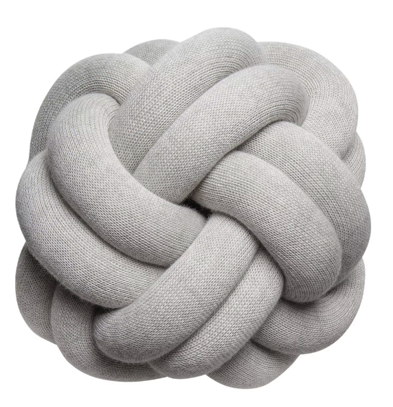 Hygge decor knotted cushion