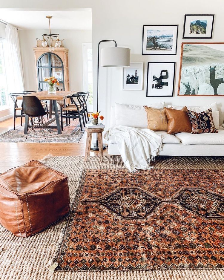 Layering Rugs In Living Room